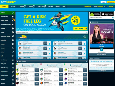 Betbright Football Bookmaker Offer: £50 Welcome Bonus in March 2021