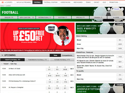 Ladbrokes Football Betting Offers of March 2021: Win Up to £50 in Free Bets