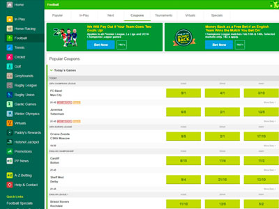 Paddy Power Bookmaker March 2021 Offers – £20 risk-free Football bets