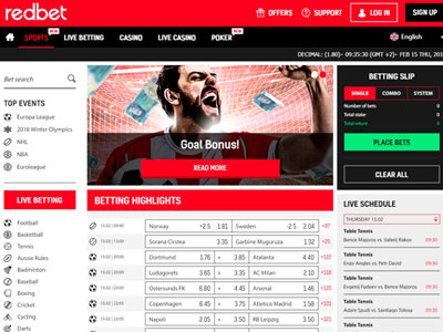 Redbet Bookmaker Review: Get Sign Up Bonus Up To £200 – Football Offer In March 2021