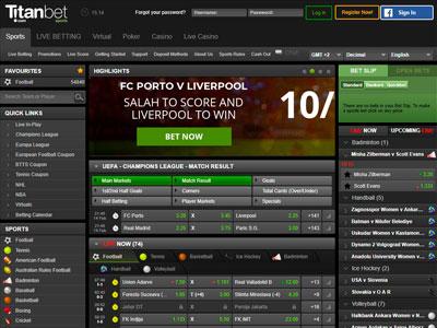 TitanBet UK Football Bookmaker Review: £10 Free Bet Bonus in March 2021